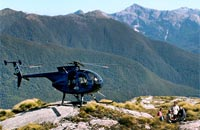 Fiordland is best seen from the air - so much of it is hard to access.