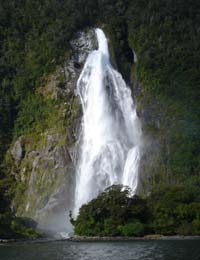 Milford Sound is just a step away from your accommodation in Te Anau at Prospect Lodge