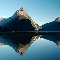Visit Mitre Peak in Milford Sound