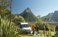 Trips and Tramps offer friendly and exceptional tours to Milford Sound